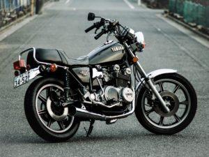 生き馬のように美しいバイクです。